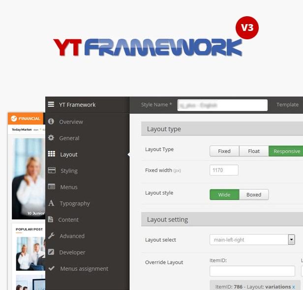 yt framework joomla 3