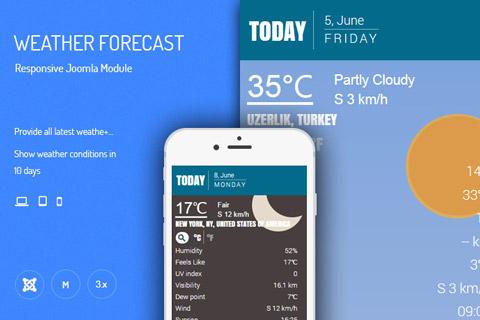 افزونه S5 Weather