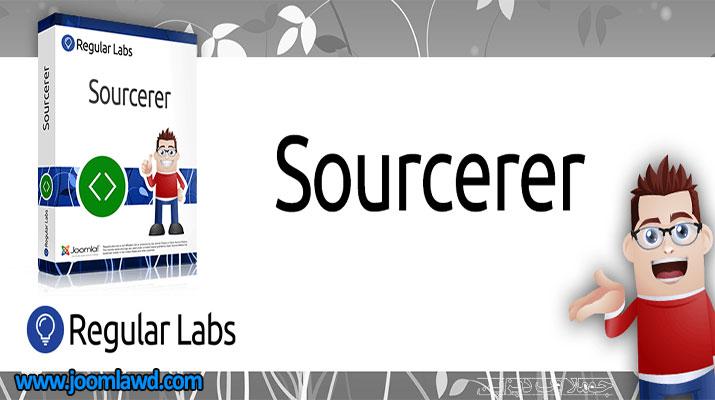 افزونه Sourcerer برای جوملا