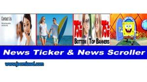 افزونه SV News Ticker برای قرار دادن آیتم های متحرک در صفحه