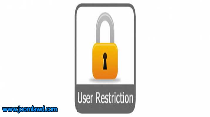 افزونه User Mail Restriction