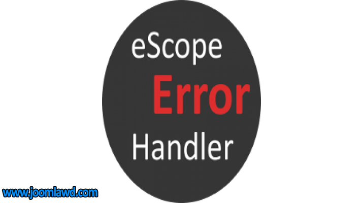 افزونه eScope Error Handler