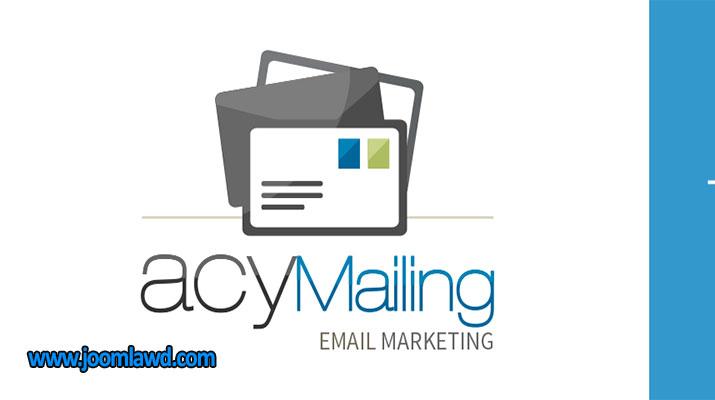 افزونه خبرنامه ایمیلی AcyMailing Starter