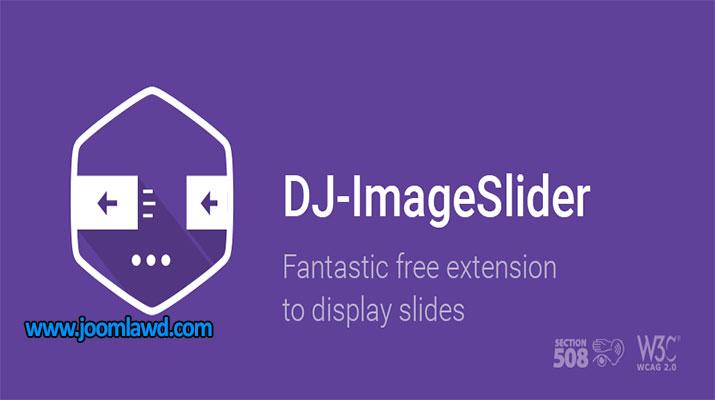 افزونه اسلایدر تصاویر DJ-ImageSlider