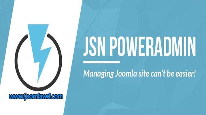 افزونه کنترل پنل حرفه ای جوملا JSN PowerAdmin