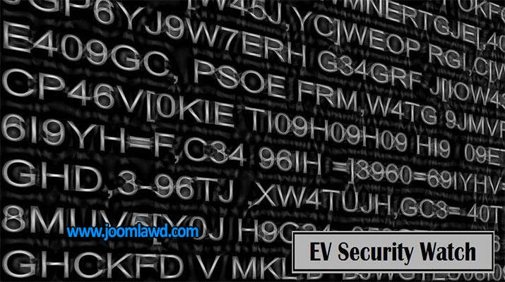 افزونه ارتقا امنیت سایت EV Security Watch