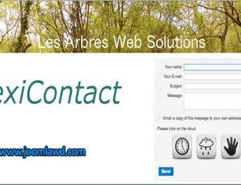 افزونه فرم تماس Flexi Contact