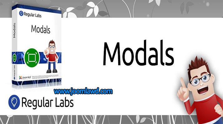 Modals- لینک ها را در پاپ آپ های مودال باز کنید. Modals به شما کمک می کند که پنجره های پاپ آپ مودال ایجاد کنید. Modals می تواند لینک هایی ایجاد کرده و همچنین هر لینک موجود در وب سایت تان را به یک لینک پنجره پاپ آپ مودال تبدیل کند. پنجره های پاپ آپ مودال کادرهای پاپ آپ فانتزی هستند که به نام Lightboxes نیز شناخته می شود. Modals با گزینه هایی برای کنترل پنجره های مودال بسته بندی می شود. ★ کامل کنترل بیش از یک ظاهر طراحی شده (از طریق برخی از گزینه های طراحی و (CSS ★ تعیین ابعاد و ★ ایجاد پاپ آپ های تصویر به سرعت و به آسانی ★ و بسیاری دیگر ... چندین راه وجود دارد که مودال ها بتوانند لینک ها را تبدیل کنند: ★ از طریق برچسب های ویژه Modal ★ با نام کلاس (همه لینک ها با نام کلاس تعریف شده) برچسب های Modal ساده هستند: {modal link/to/the/page}Click here!{/modal} اطلاعات بیشتر: https://www.regularlabs.com/modals ورژن: 9.12.0 توسعه دهنده: Regular Labs تاریخ آخرین به روزرسانی: Jun 02 2018 تاریخ اضافه شده: Mar 03 2008 مجوز: GPLv2 or later نوع: دانلود ریگان