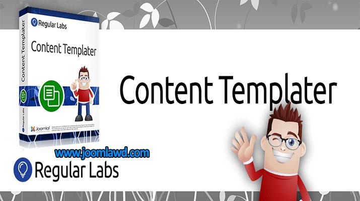 افزونه استفاده از مطالب از پیش ساخته Content Templater