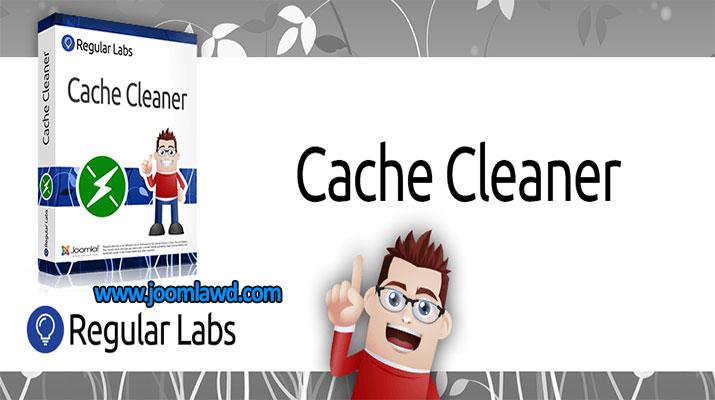 افزونه پاکسازی حافظه کش Cache Cleaner