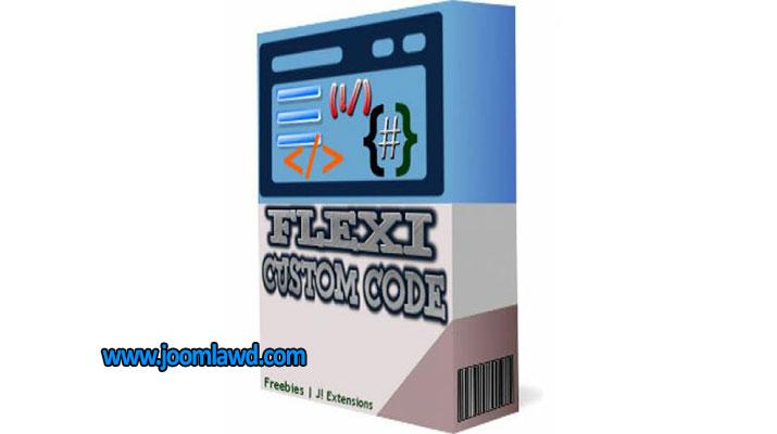 افزونه درج کد دلخواه Flexi Custom Code