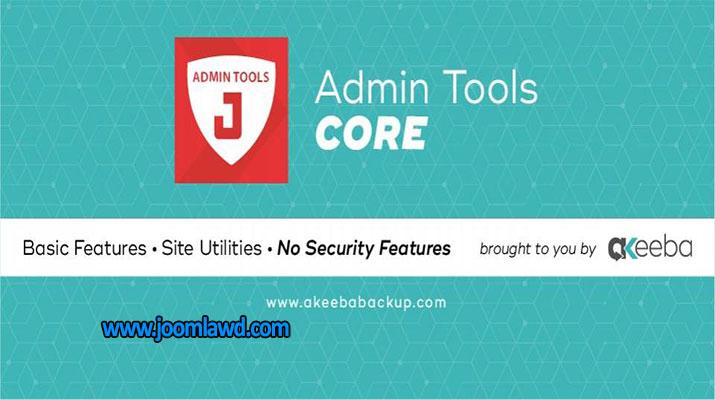 افزونه امنیت سایت Admin Tools