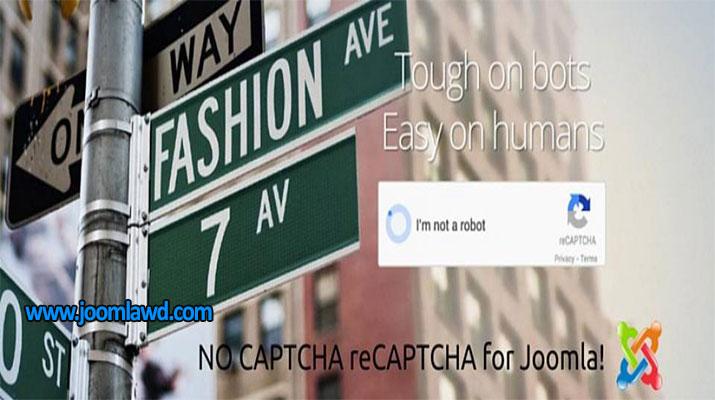 افزونه CAPTCHA برای وب سایت جوملا NO CAPTCHA reCAPTCHA