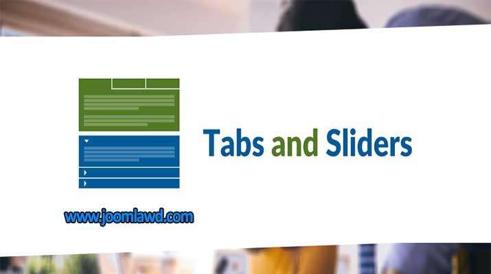 افزونه نمایش محتوا در تب ها و اسلایدر های سایت جوملا Tabs and Sliders