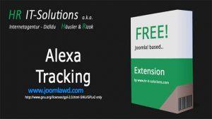 افزونه تجزیه و تحلیل وب سایت جوملا DD Alexa Tracking