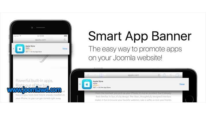 افزونه ساخت بنر هوشمند برای وب سایت جوملا Smart App Banner