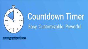 افزونه شمارشگر رویداد های وب سایت جوملا POWr Countdown Timer