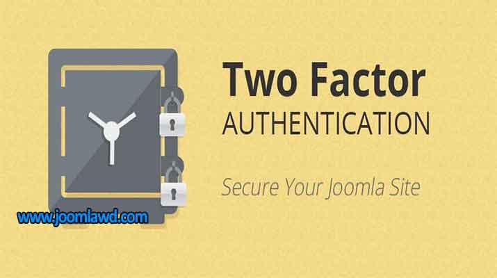 افزونه افزایش امنیت وب سایت جوملا Two Factor Authentication
