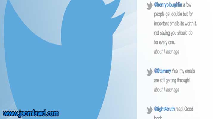 افزونه Recent Tweets Widget