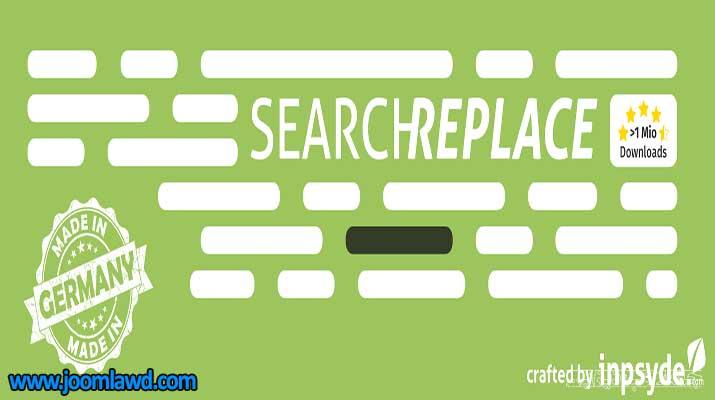 افزونه Search & Replace