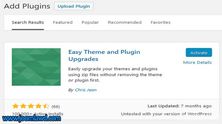 افزونه Easy Theme and Plugin Upgrades