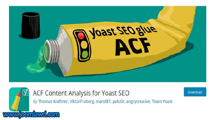 افزونه ACF Content Analysis for Yoast SEO