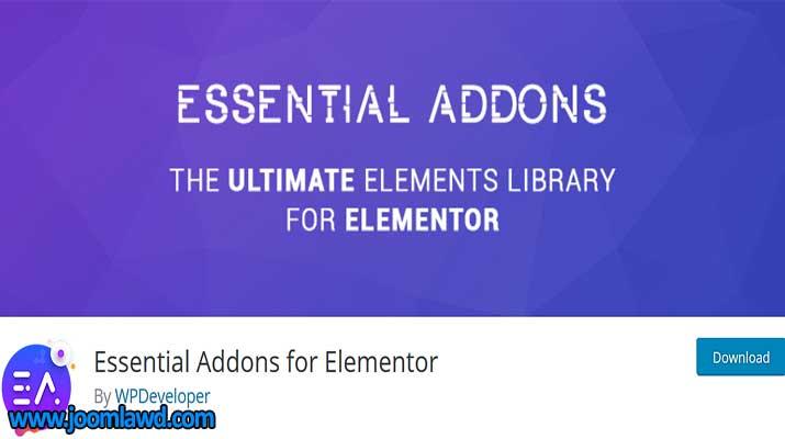 افزونه Essential Addons for Elementor