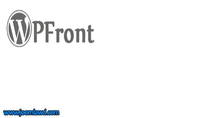 افزونه WPFront Scroll Top