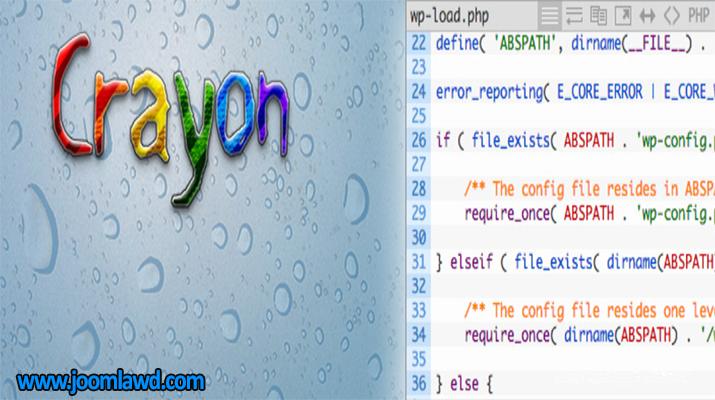 افزونه Crayon Syntax Highlighter درج کد در میان مطالب وردپرس