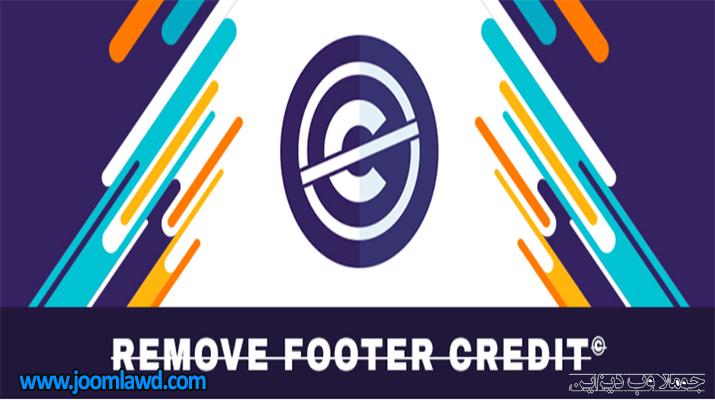 افزونه Remove Footer Credit تغییر متن فوتر وردپرس